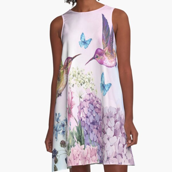Beauty is all around us A-Line Dress
