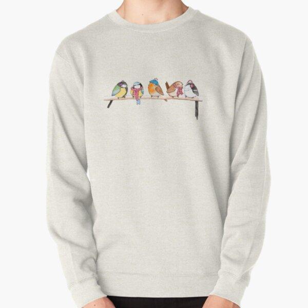 Winter Birdies Pullover Sweatshirt