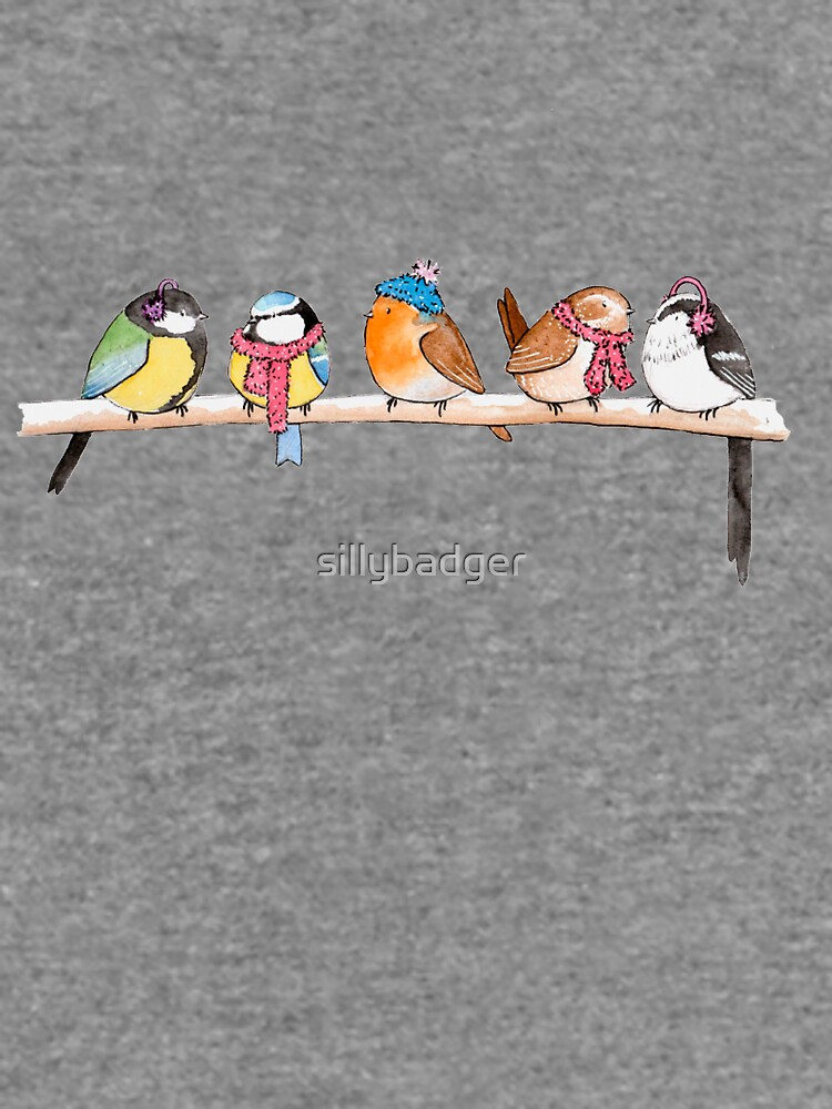 Winter Birdies by sillybadger