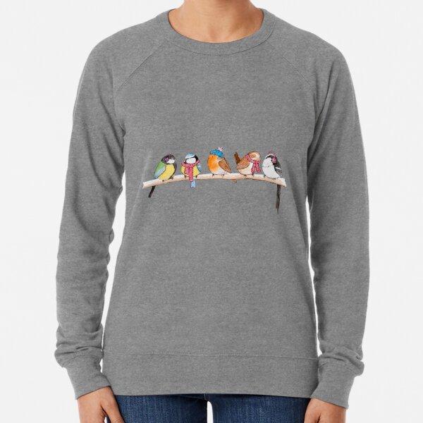 Winter Birdies Lightweight Sweatshirt