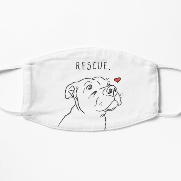 Rescue Pitbull, Pit Bull Lovers, Pittie, Pibble, Cute Pitbull, Adopt Don't Shop, Dog Rescue Flat Mask
