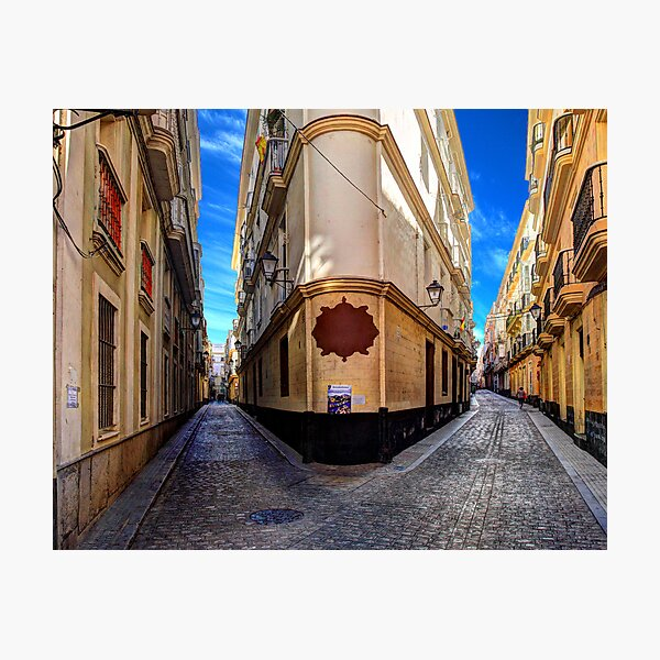 Backstreets Of Cadiz Photographic Print