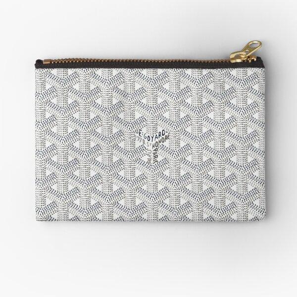 White goyard1,pattern Zipper Pouch