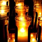 Altar Candles by BarrinFlanagan