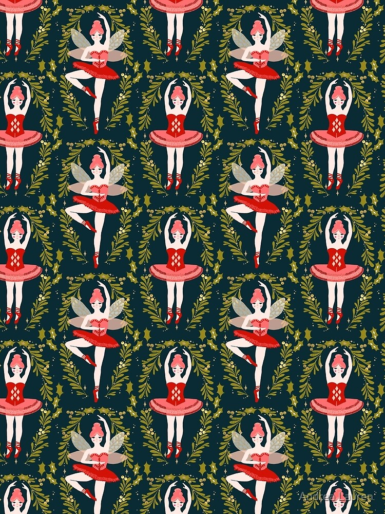 The Nutcracker - Navy by Andrea Lauren  by papersparrow