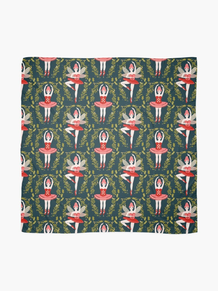 Alternate view of The Nutcracker - Navy by Andrea Lauren  Scarf