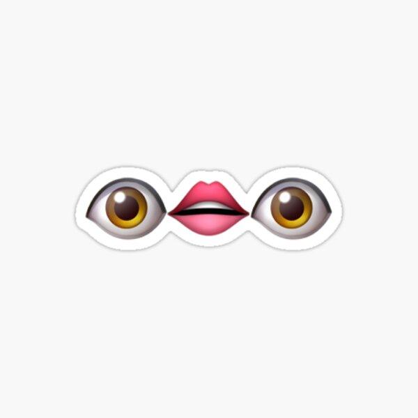 yeux lèvres yeux emoji Sticker