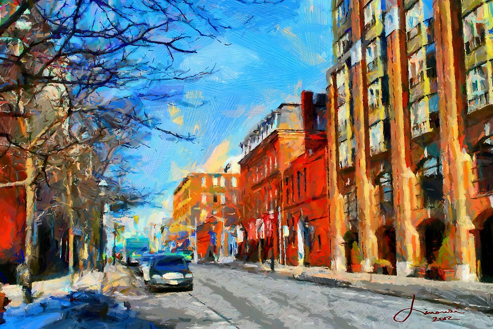 St. George at Front St. E. Toronto by DiNovici
