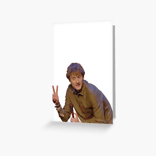 James Acaster Greeting Card