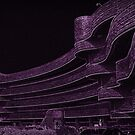 Waves Lilac by artkitecture