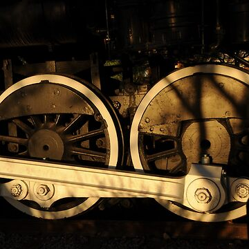 Wheels on a Train by MartinaT61