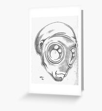 The Alien Greeting Card