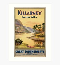 Vintage poster - Ireland Art Print