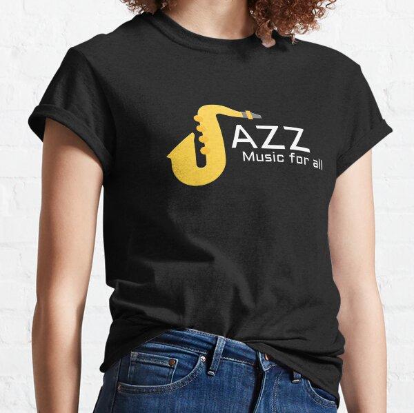 MÚSICA DE JAZZ PARA TODOS Camiseta clásica