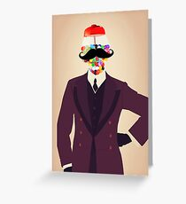 The Perfect Gentleman Greeting Card