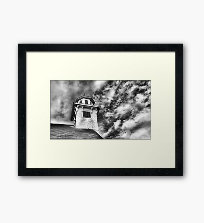 Old Church in Independence Oregon Framed Print