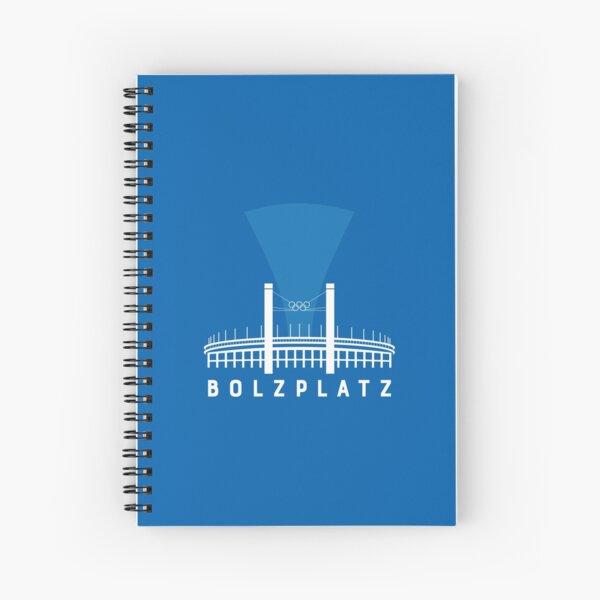 Bolzplatz - Olympiastadion  Spiralblock