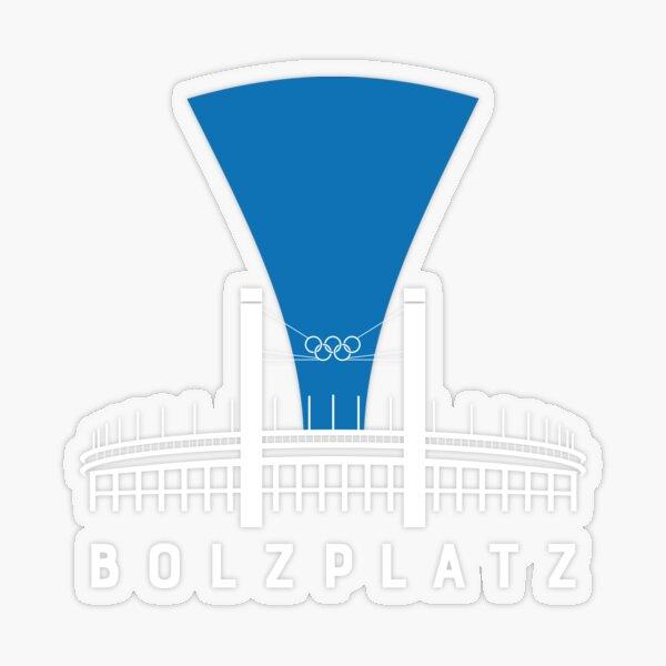 Bolzplatz - Olympiastadion  Transparenter Sticker
