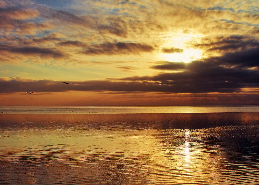 Ocean Sunset by Martha1107
