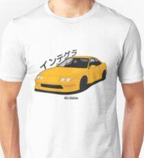 Honda Integra DC2 (Yellow) Unisex T-Shirt