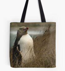 Yellow Eyed Penguin Tote Bag