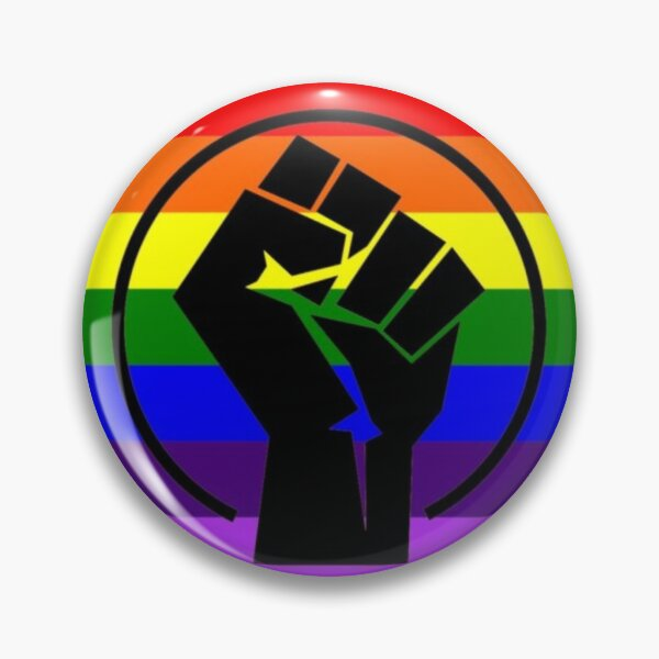 PRIDE BLACK LIVES MATTER Pin