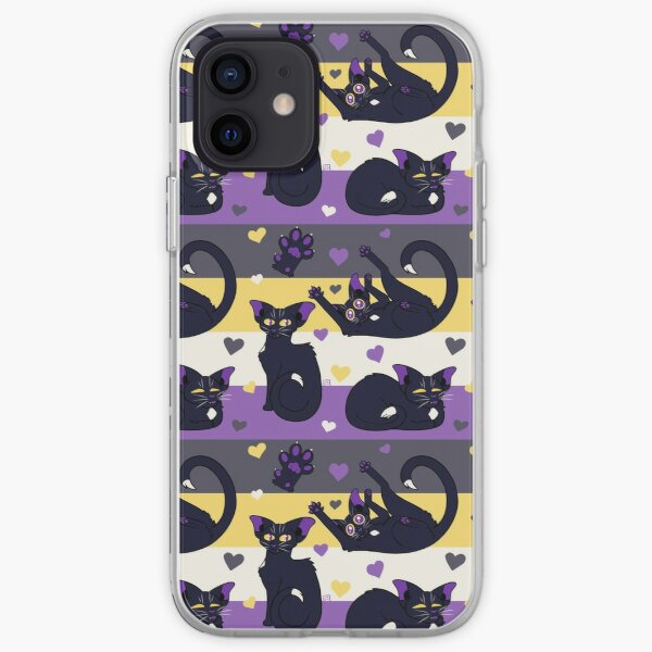 Queer Kitties - Non Binary iPhone Soft Case