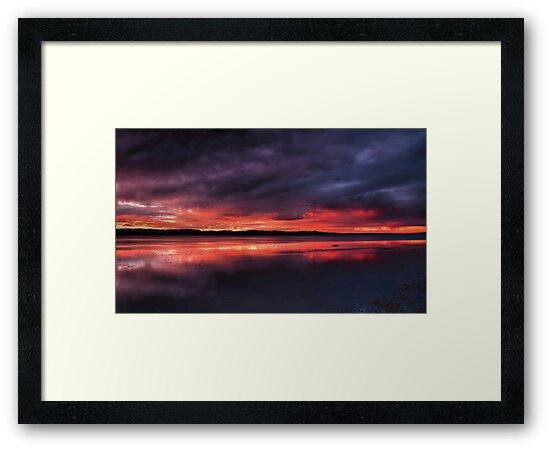 Sunset Storm by bazcelt