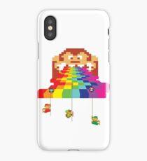 8 Bit Nintendo Rainbow iPhone Case