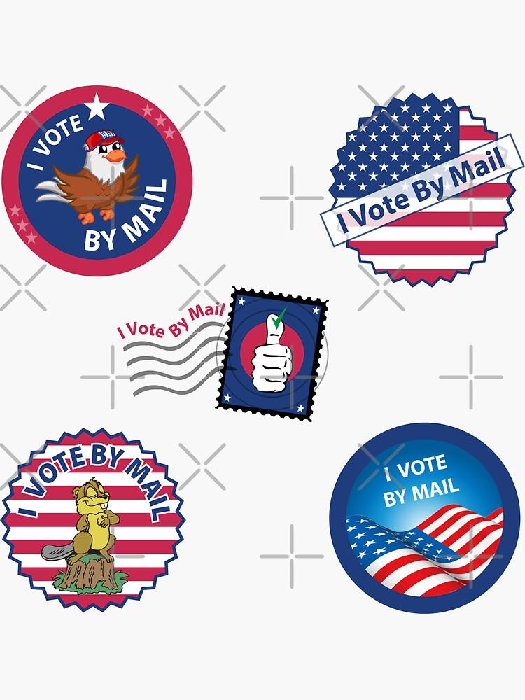 I Vote By Mail by kadanceshop