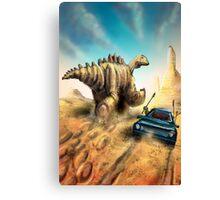 Dinosaur Hunt Canvas Print