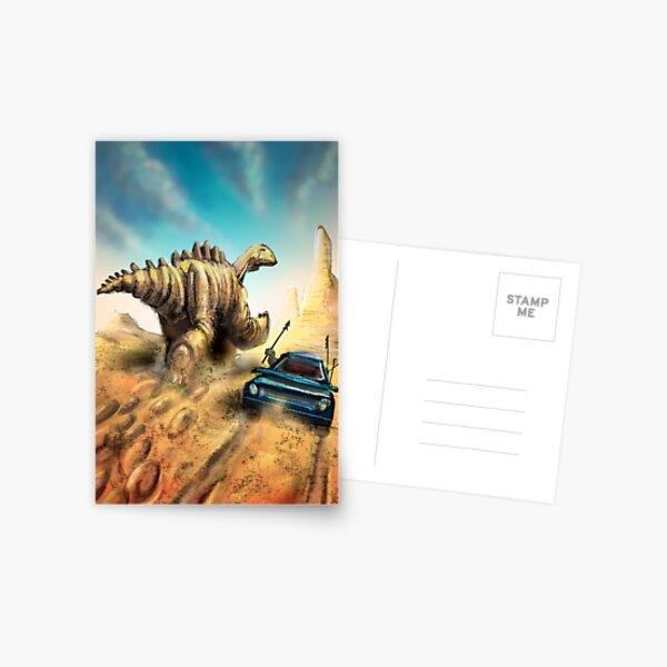 Dinosaur Hunt Postcard