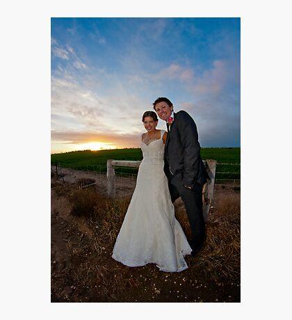 Mr and Mrs Shepherd Photographic Print