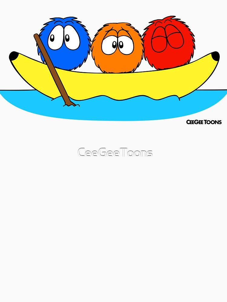 Summer Fluffin' - Banana Boat by CeeGeeToons