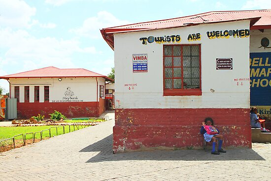 Primary School in Soweto, Johannesburg, South Africa by Carole-Anne