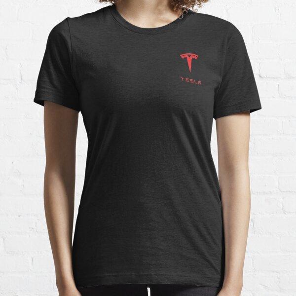Tesla Logo Red Essential T-Shirt