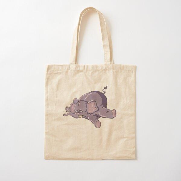 Knackered elephant  Cotton Tote Bag