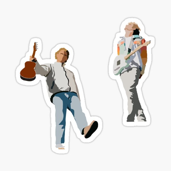 Forrest and Colin Surfaces Sticker