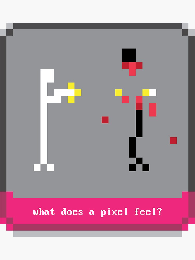 what does a pixel feel? by mavenmob