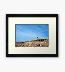 Spurn Point Lighthouse Framed Print