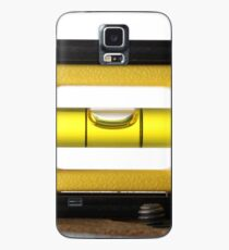 Spirit Level (or bubble level) on white  Case/Skin for Samsung Galaxy