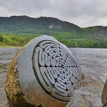 The Lake District: Millenium Stone, Close Up by rob3003