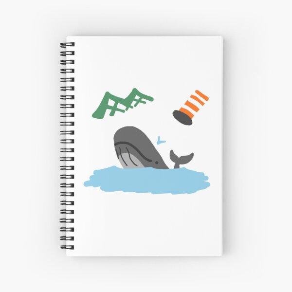 Whale MTL Spiral Notebook