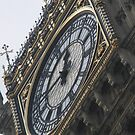 The face of Big Ben  by karenkirkham