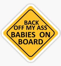 BABIES ON BOARD Sticker
