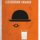 «Clockwork Orange Film Poster» de quimmirabet
