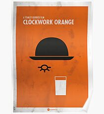 Clockwork Orange Film Poster Poster