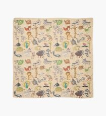 ABC Animals Scarf
