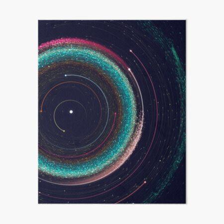 000 asteroides Lámina rígida