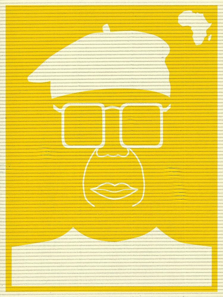 An Identity: Chinua Achebe by Bo Jong Kim